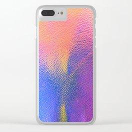 Unicorn Hide Clear iPhone Case