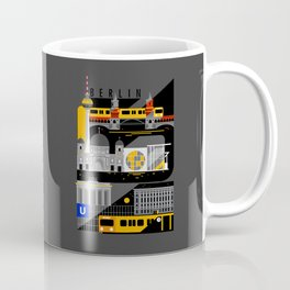 Berlin at Night Coffee Mug