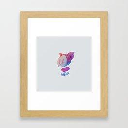 Part of cat Framed Art Print
