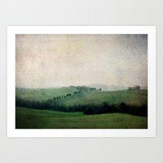 Toscana Vintage II Art Print