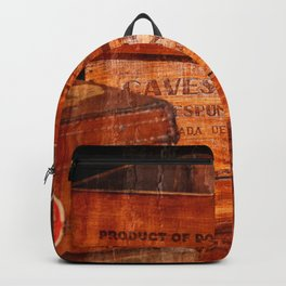 Wine crates Backpack