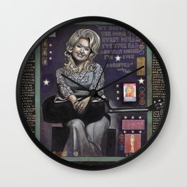 Dolly Parton Wall Clock