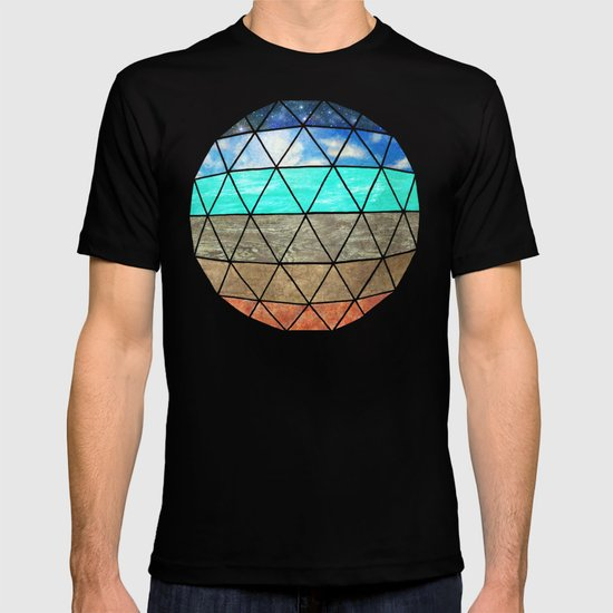 Elemental Geodesic  T-shirt