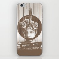 silence of the lambs iPhone & iPod Skins featuring Silence by Kyle Cobban