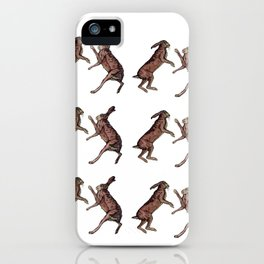 Gettin' HAREy iPhone Case