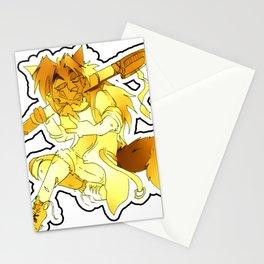 Yellow Spirit Stationery Cards