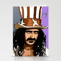 zappa Stationery Cards featuring Zappa by Saundra Myles