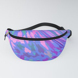 BLUE SAFARI FLOW Fanny Pack