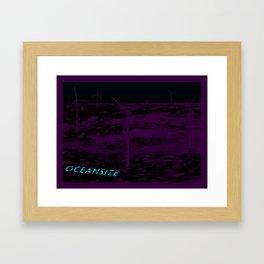 Oceansize Framed Art Print