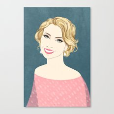 Lady light Canvas Print