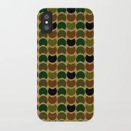 HobNob Camo Multi iPhone Case