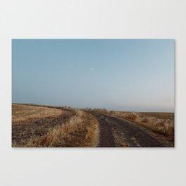 Summertime Road Canvas Print