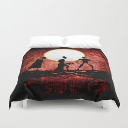 The Tale of the Three Brothers Duvet Cover
