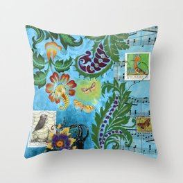 Song of Revival Throw Pillow