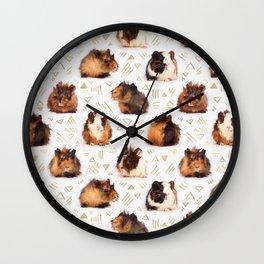 The Essential Guinea Pig Wall Clock