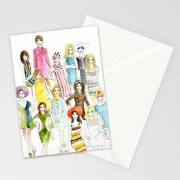 Mod 60s Stationery Cards