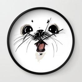 ghus saga comic Wall Clock
