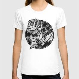 Line Work Solo Rose T-shirt