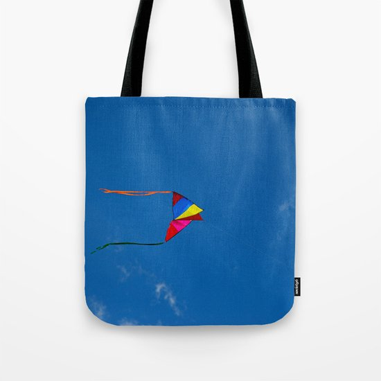 Controlled Flight - Kite 7479 Tote Bag