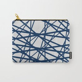 Criss Cross Lines Carry-All Pouch