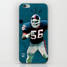 NY Giants' Lawrence Taylor iPhone & iPod Skin