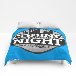 Programmer - Coding at the night Comforters