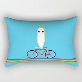 Daikon Bike Rectangular Pillow