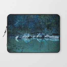 Early Blue Morning Laptop Sleeve
