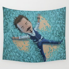 Wealth is the ability to feel alive to the fullest Wall Tapestry