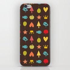 Happy pattern iPhone & iPod Skin
