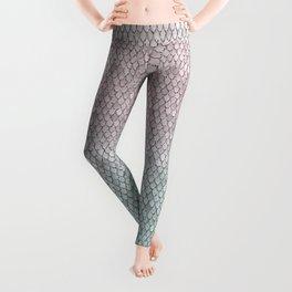 Pretty Mermaid Scales 19o Leggings