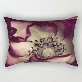 Edged in Burgundy Rectangular Pillow