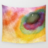 outer space Wall Tapestries featuring Outer Space by Alexandre Reis