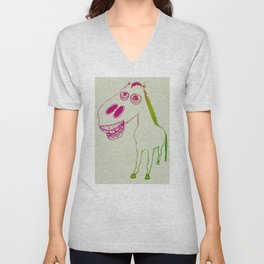 Don't look a gift horse in the mouth Unisex V-Neck