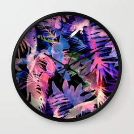 VIBE of the JUNGLE  {E-Multi} Wall Clock