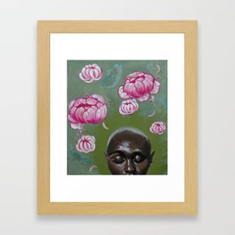Here Comes a Thought Framed Art Print