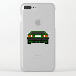 A green flower Clear iPhone Case