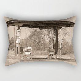 Gone Gas Rectangular Pillow