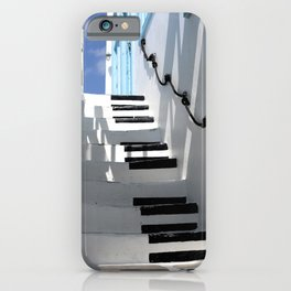 Stairway to Your Best Summer Holiday iPhone Case
