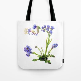 Statice Flower Dissection Tote Bag