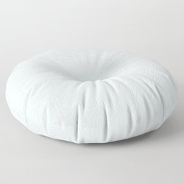 Minimal Minimalistic Light Cool Gray Mandala Floor Pillow