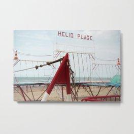 Beach H Metal Print