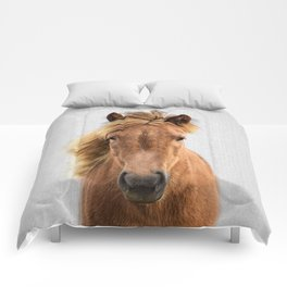 Wild Horse - Colorful Comforters