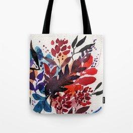 Floral Design, Flowers, Exotic, Vibrant Color, Watercolor flowers, Decor Tote Bag