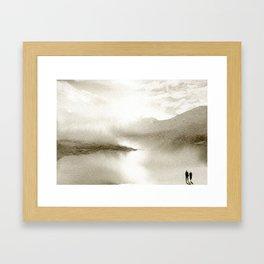 Sepia Light Framed Art Print