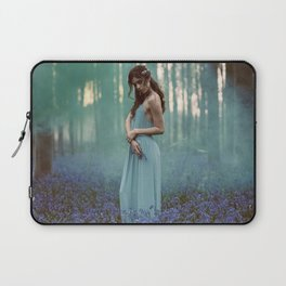 Girl in forest 2 Laptop Sleeve