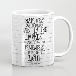 Albus Dumbledore Quote Inspirational Coffee Mug