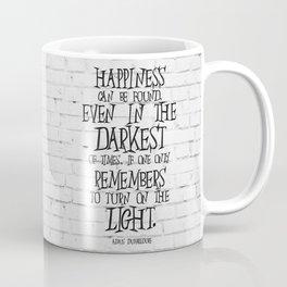 Albus Dumbledore Quote Inspirational Coffee Mug