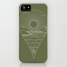 Heading Out iPhone Case