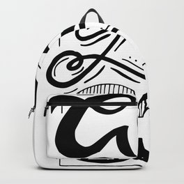 Go Go Go motivational quote Backpack